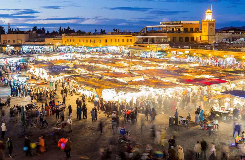Marrakech-Djema-El-Fnaa