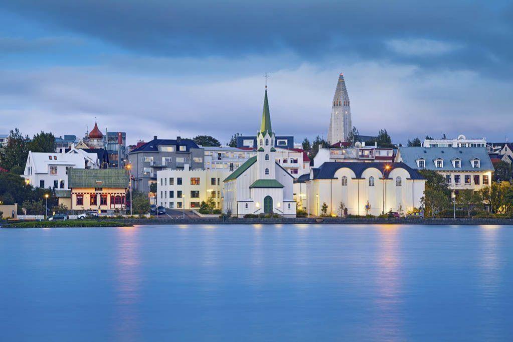 Reykjavik-atardecer